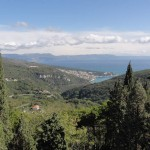 Travelling for Fun, visit Croatia, Pula: View of the coast on the way to Pula, Istrea