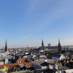 Travelling for Fun, things to do in Copenhagen, Denmark: A birds eye view of Copehagen from the top of the Round Tower