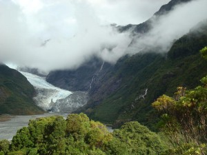 Travel for fun, Fox Glacier, visit New Zealand South Island: Where the mighty Fox Glacier ends