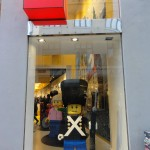 Travelling for Fun, things to do in Copenhagen, Denmark: A full size legoman in Denmarks famous shop