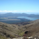 Travelling for fun, visit New Zealand North Island, Tongariro: A view from the top of the Tongariro Crossing