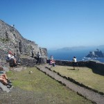 Travel for fun, Skellig Island, Kerry, visit Ireland: Part of the monastic UNESCO World Heritage Site on Skellig Michael