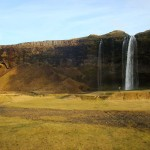 Travelling for fun, Seljalandsfoss , visit Iceland: Seljalandsfoss waterfall just off Highway 1 on Iceland's south coast allows you to get in behind it for views as well