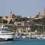Mgarr Port with churches, Mgarr, What to do in Gozo, Malta, Travelling for fun: The churches and port of Mgarr on Gozo