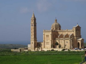 Ta' Pinu Basillica, What to do in Gozo, Malta: Another huge church this time of Ta'Pinu and this one hardly even has a village to go with it.