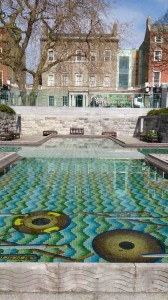 Garden of Remembrance and Hugh Lane Gallery, Free attractions in Dublin, Ireland, What to do in Dublin, Travelling for Fun: A photo of the Hugh Lane Gallery from the Garden of Remembrance.