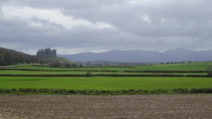 Commanding!, visiting the Rock of Cashel, Tipperary, what to do in Ireland, Travelling for fun: The Rock of Cashel looks out from its perch over its green field territory of Tipperary