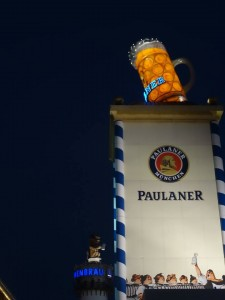 What to do at Oktoberfest, Munich - Beer, lighting the way!