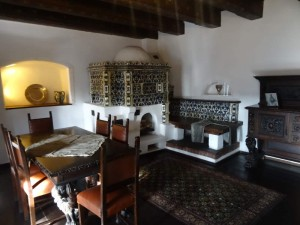 Where is Dracula's Castle - Bran Castle Romania dining Room