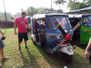 Rickshaw Run - Good pimping