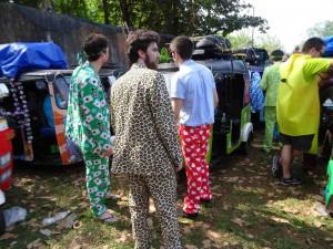 Rickshaw Run India - Clothes were also pimped