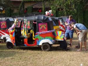 Rickshaw Run India - Confused
