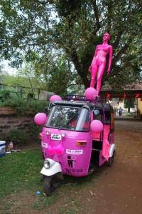 Rickshaw Run India - The Pink Lady
