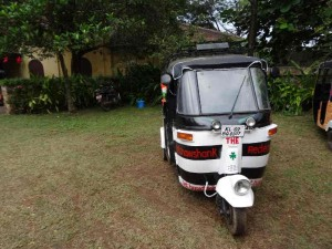 Rickshaw Run India - Our vehicle, the Rickshaw Shank Redemption