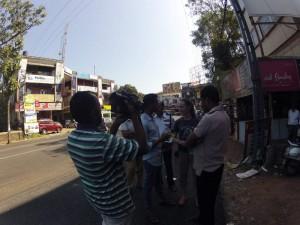 Rickshaw Run India -Getting on TV