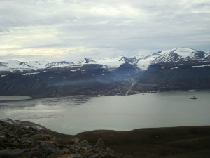 What to do in Svalbard, Norway - Longyearbyen from high